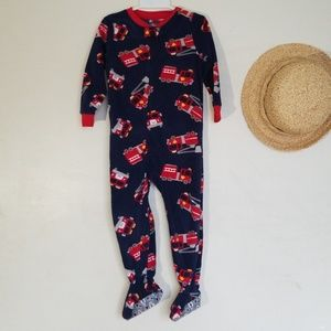 Boys New Footed Onsies Carters 3T
